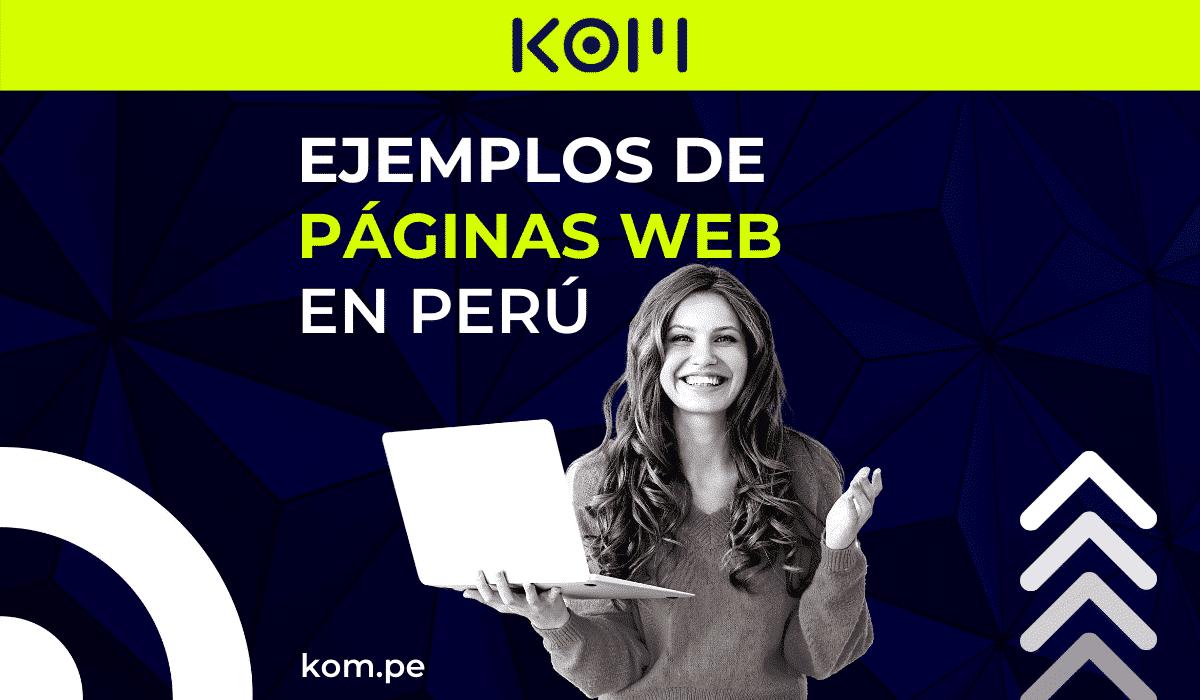 ejemplos de paginas en peru web por rubros