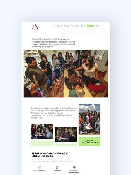 portada portafolio mariana del hoyo kom agencia digital peru