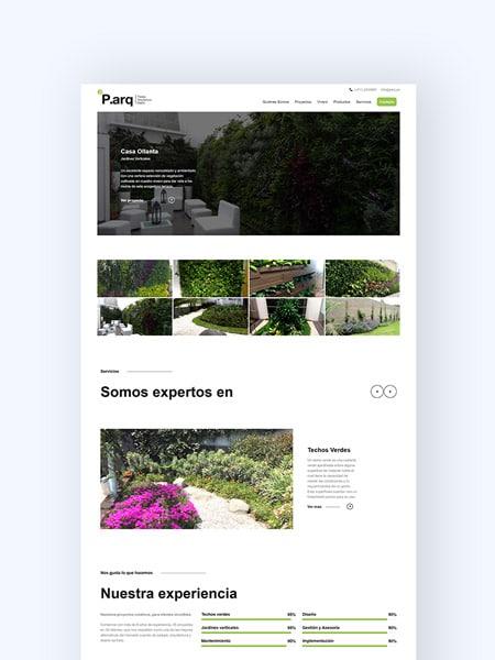 portada portafolio parq kom agencia digital peru