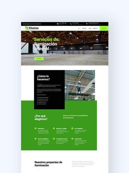 portada portafolio silumina kom agencia digital peru
