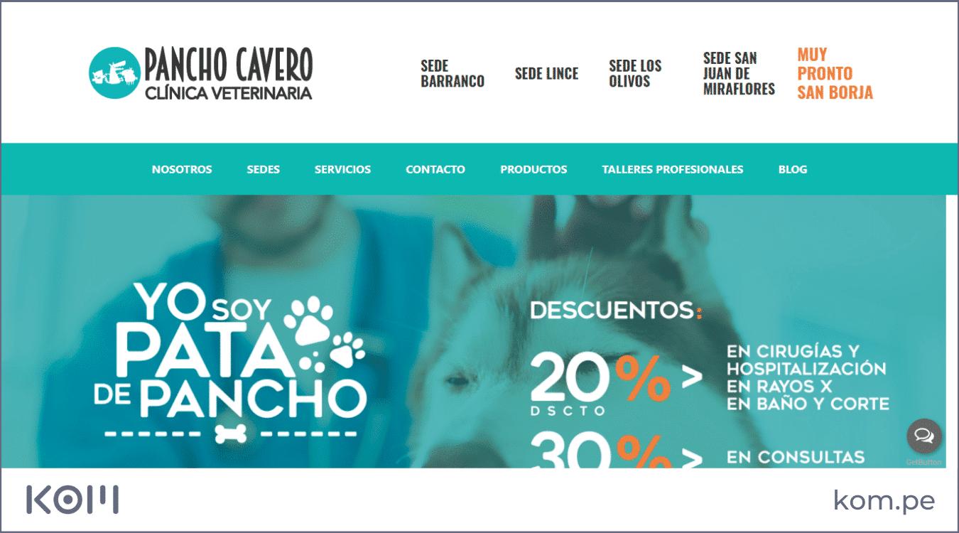 Las mejores páginas web de veterinarias o centros veterinarios en el Perú
